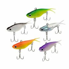 Lot 5pcs/Colours Transam Soft VIB Fishing Lure Jerkbait Bream Bass Crankbait 9cm