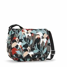 BNWT Kipling EARTHBEAT M Medium Shoulder Bag LILY GARDEN  RRP £79