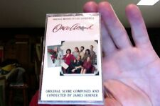 Once Around- film soundtrack- James Horner- new/sealed cassette tape