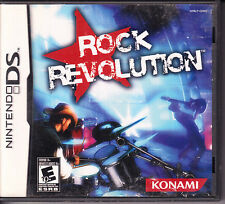 Rock Revolution (Nintendo DS) Complete with Manual - Fully Tested