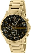 Armani Exchange Men's Smart AX2137 Gold Stainless-Steel Quartz Watch