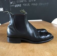 STUNNING RM WILLIAMS CHELSEA BOOTS BLACK LEATHER CHURCH UK 7.5