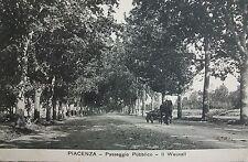 PIACENZA: passeggio pubblico - Il Wauxall
