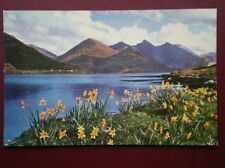 POSTCARD ROSS & CROMARTY LOCH DUICH & THE FIVE SISTERS OF KINTAIL