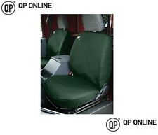 WATERPROOF FRONT GREEN SEAT COVERS FOR THE DEFENDER UP TO 2007 3 SEATS BRAND NEW