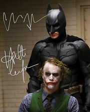 DARK KNIGHT #1 10X8 PRE PRINTED (SIGNED) LAB QUALITY PHOTO - FREE DELIVERY
