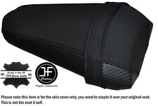GRIP & CARBON BLACK ST CUSTOM FITS YAMAHA YZF 1000 R1 15-16 REAR SEAT COVER