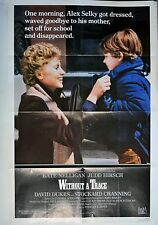 """Kate Nelligan Poster Without a Trace Movie Folded One Sheet 40"""" x 27"""" 1983"""