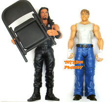 Roman Reigns & Dean Ambrose The Shield WWE Wrestling Chair Action Figure Kid Toy