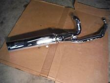 07 Hyosung  GV650 EXHAUST AND MUFFLER