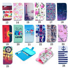 Flip Leather Wallet Case Rubber Skin Folio Magnet Stand Cover for Samsung iPhone