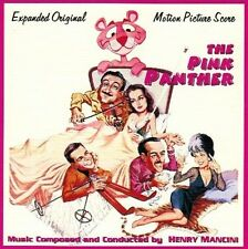 "Henry Mancini:  ""Pink Panther / Son Of The Pink Panther"" + Bonus (2on1 Score CD)"