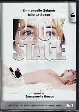 Dvd **BACKSTAGE** di Emmanuelle Bercot nuovo 2005