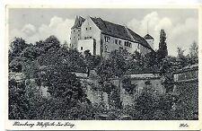 D 105 - Rila Karte, Nürnberg, Westseite der Burg 1940 gelaufen Verl Riffelmacher