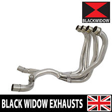 Kawasaki ZZR 1200 4-2 Exhaust Headers Downpipes Stainless Steel