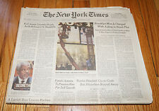 DEC 31 1999 New York Times NEW YEARS Newspaper MILLENIUM Y2K Bug News Paper