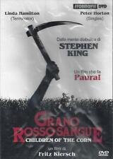 Dvd video **GRANO ROSSO SANGUE** di Stephen King nuovo 1984