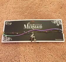 Disney The Little Mermaid Ariel Layered & Colors Necklace New With Tags!