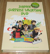 SHINee Surprise Vacation 6 DISC DVD + POUCH SET SEALED
