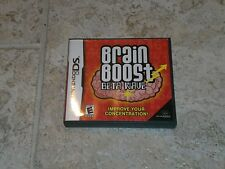Brain Boost: Beta Wave for Nintendo DS system Complete Free Shipping!