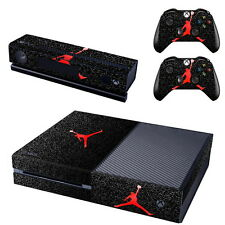 Michael Jordan Decal Skin Sticker for Microsoft Xbox One Console+Controllers
