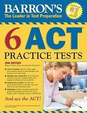 Barron's 6 ACT Practice Tests, 2nd Edition-ExLibrary