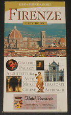 FIRENZE City Book en Italiano Guia de Bolsillo 2004 Florencia