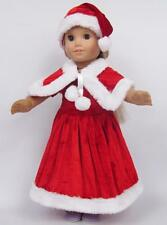 2015 Christmas clothes dress for 18inch American girl doll children gift b5
