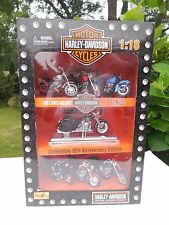 HARLEY DAVIDSON 1:18 SCALE 95TH ANNIVERSARY EDITION SET OF 7-COLLECTION # 3-NIB