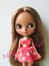 "NEW GIRL TAKARA 12"" Neo Blythe Nude Doll With Tan Skin From Factory For Custom"