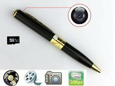 Mini Spy 8GB Pen HD Video Hidden Web Cam Camera TF/ Micro SD Card Camcorder DVR