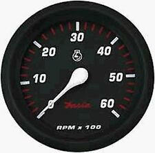 Faria Professional Gauge Tachometer Gas Inboard and I/O 6,000 RPM 34607 MD