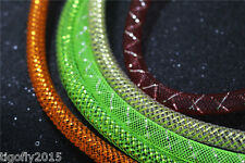 8 Assorted Colors& Size Mylar Tinsel Tube Mesh Tube Fly Tying Materials