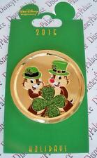 Disney WDI Holidays Series Chip and Dale St. Patrick's Day 2015 LE 250 Pin