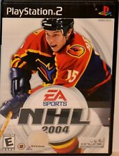 """PS2 SONY Playstation 2 Video Game """"NHL 2004"""" w/ Manual !!!FREE SHIPPING!!!"""