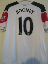 Manchester United 2010-2011 Rooney 10 Away Football Shirt Size Large /39395