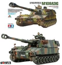 M109A3G TAMIYA Italeri No.22 1/35 Model Kit Carro armato Tanks Nuovo New