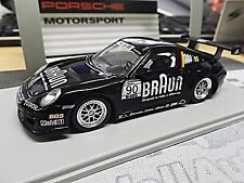 Porsche 911 997 gt3 Cup Supercup 2010 marrón #90 vip car Spark resin 1:43