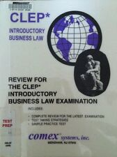 Review for the CLEP Introductory Business Law by Comex Systems Staff (2001,...