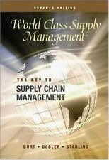 World Class Supply Management: The Key to Supply Chain Management with-ExLibrary