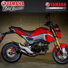 2017 HONDA GROM 125 M4 GP STYLE FULL EXHAUST SYSTEM CERAMIC BLACK HO1135