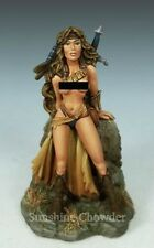 Female Amazon at Rest DSM 1186 Elmore Masterworks - Dark Sword Miniatures Pewter