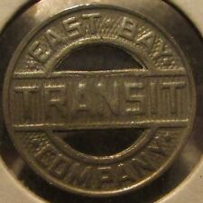Vintage East Bay Transit Company Oakland, CA Bus Token - Calif. California