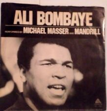 MICHAEL MASSER AND MANDRILL - Ali Bombaye - vinile 45 mai usato