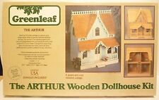 Vintage 1981 Greenleaf The Arthur Wooden Dollhouse Kit Victorian Cottage NEW
