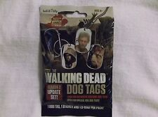 The Walking Dead Season 2 Update Dog Tag Hot Pack. Costume Tag. Unopened.