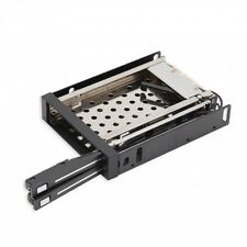 """Syba CL-HD-MRDU25S Dual Bay Trayless Mobile Rack for Two 2.5"""" SATA III Drive"""