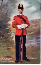 """""""The Sherwood Foresters - Sergeant """" Tuck Oilette Postcard"""