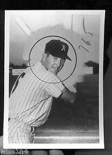 1961/2 minor league photo of NY Yankee catcher Jake Gibbs Richmond Virginians