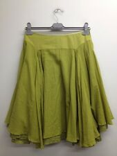 BNWT Limited Collection - Apple Green Double Layered Circle Skirt Uk 12 (T904)